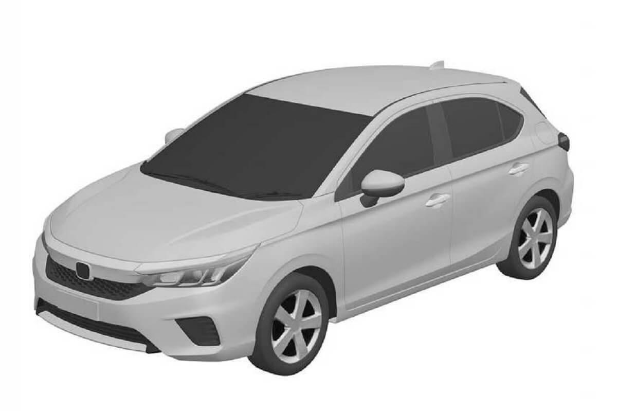 Honda City Hatchback and Jazz Crosstar Registered in Brazil