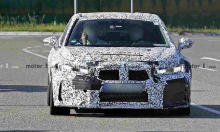 Honda Civic 2022 Type R Spied