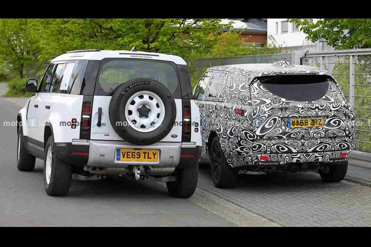 New Range Rover Spied