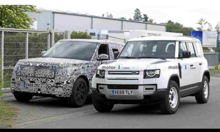 New Range Rover Vogue Spied