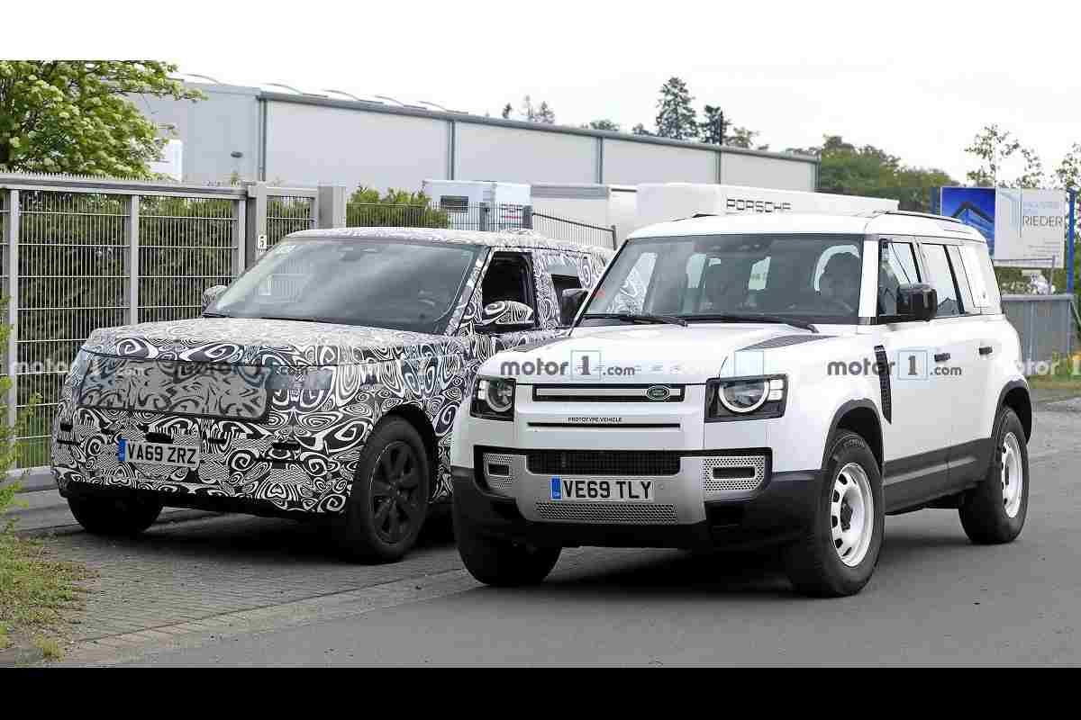 New Range Rover Vogue Spied