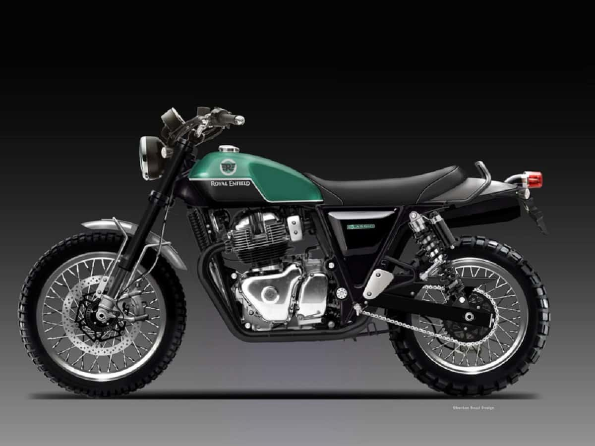 New Royal Enfield 650 Scrambler Bike In the Works?