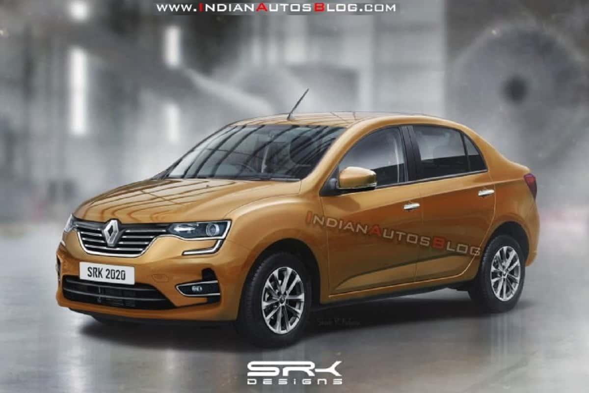 Renault Sedan Rendering