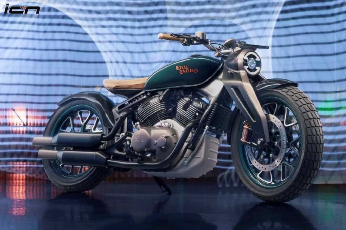 RE Concept KX Inspired Royal Enfield Classic 650 Rendered