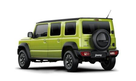 Suzuki Jimny 5-Door rear