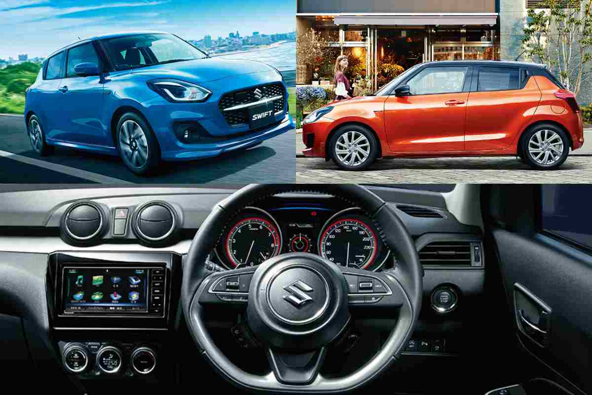 Suzuki Swift Facelift Official Pictures and Details Revealed