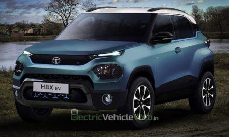 Tata HBX EV Rendering