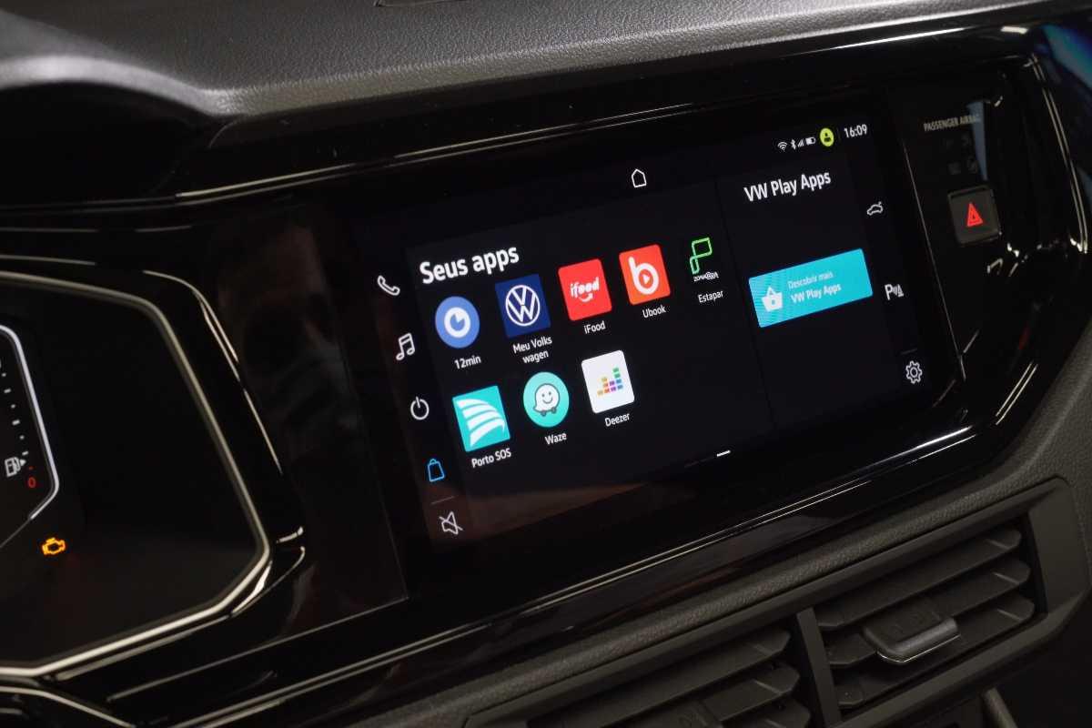 VW Nivus Touchscreen