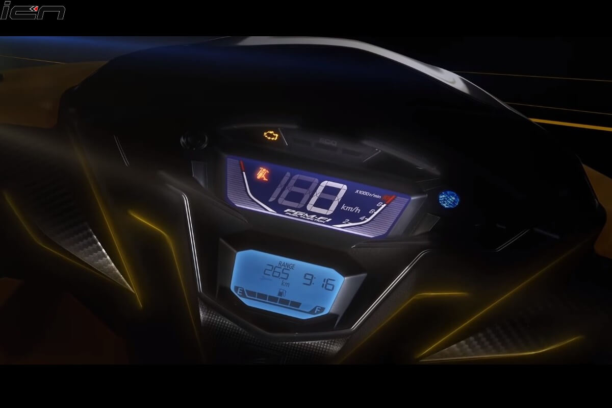 2020 Honda Grazia BS6 Instrument Console (1)