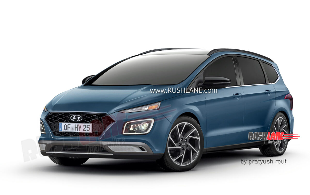 Upcoming Hyundai 7-Seater MPV Rendered In 4 Exciting Colours