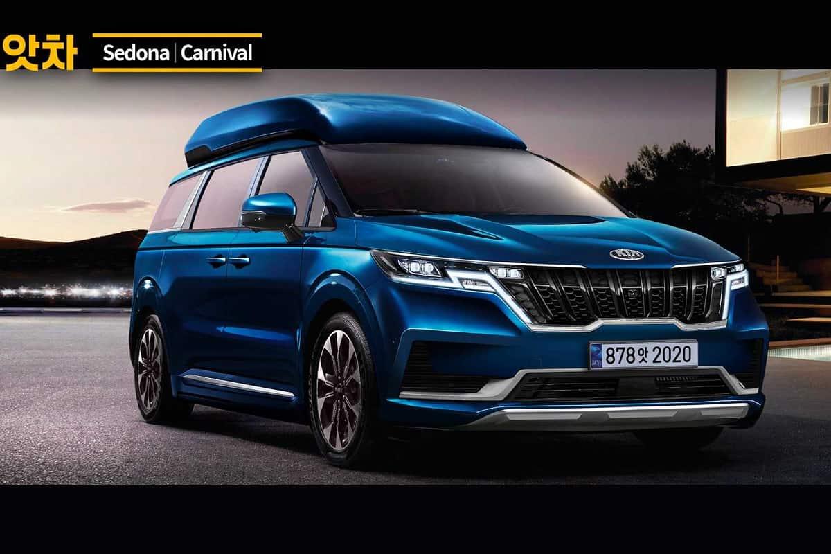 2021 Kia Carnival Renderings Show Sharper Design