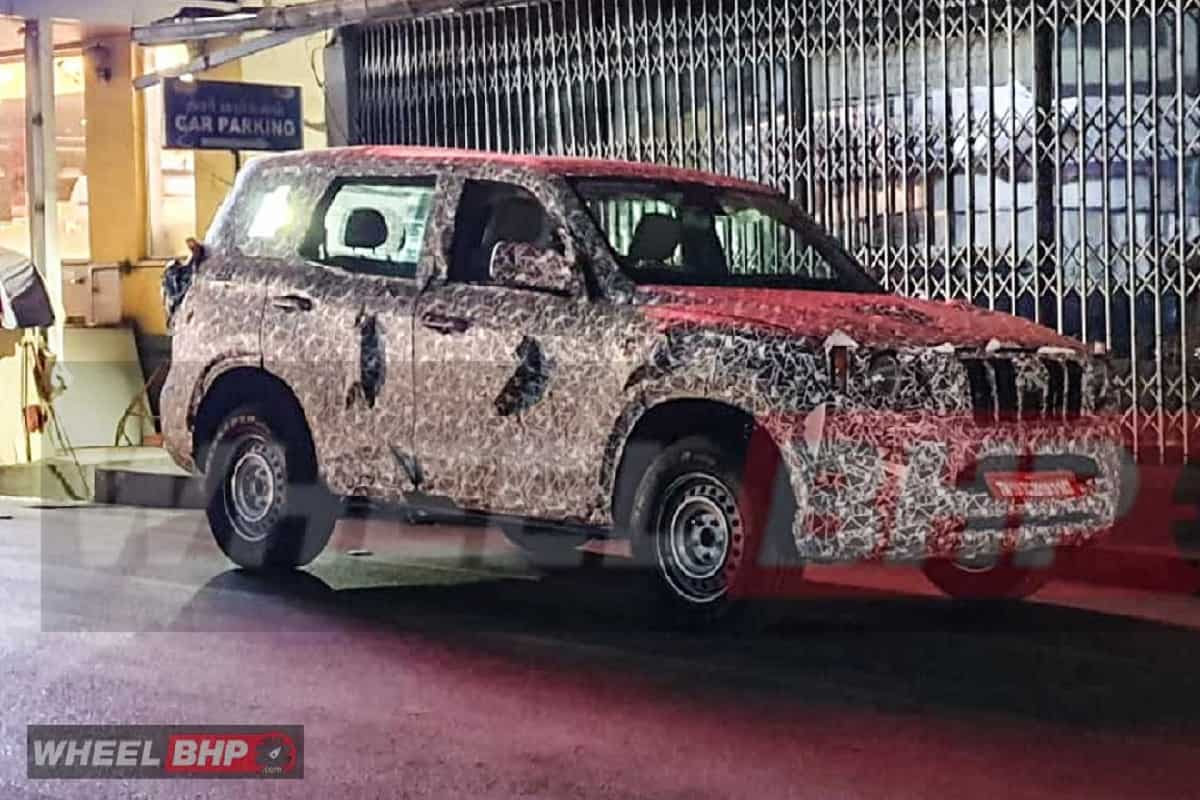 2021 Mahindra Scorpio Continues Testing; New Interesting Details Emerge