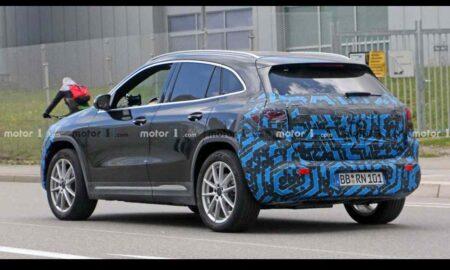 2021 Mercedes EQA Spied rear