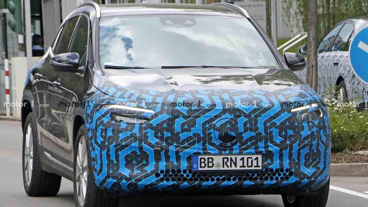 2021 Mercedes EQA Spied