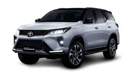 2021 Toyota Fortuner Legender Launch