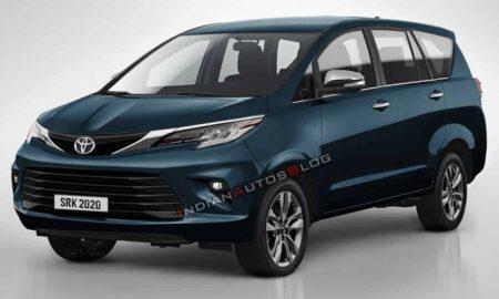 2021 Toyota Innova Crysta Rendered