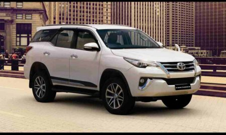 BS6 Toyota Fortuner