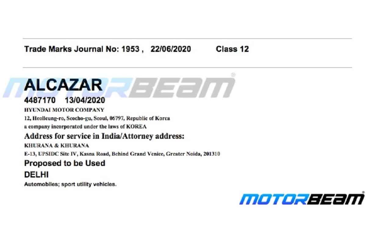 Hyundai Alcazar SUV