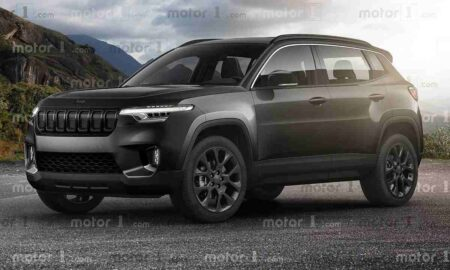 Jeep Compact SUV rendering 2