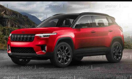 Jeep Compact SUV rendering