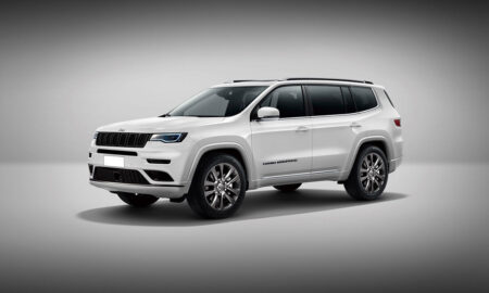 Jeep Grand Compass Rendered