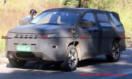 Jeep Grand Compass Spied