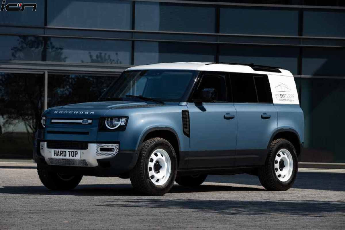 Land Rover Defender Hard Top Version Looks Tough: Revealed