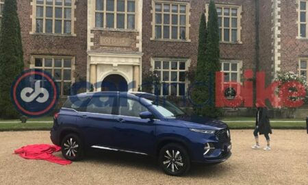 MG Hector Plus Blue Colour