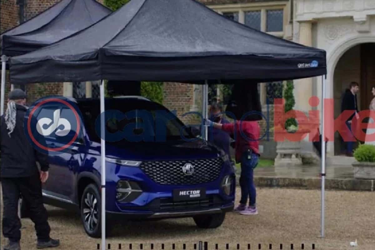 MG Hector Plus To Get An Exclusive Blue Colour