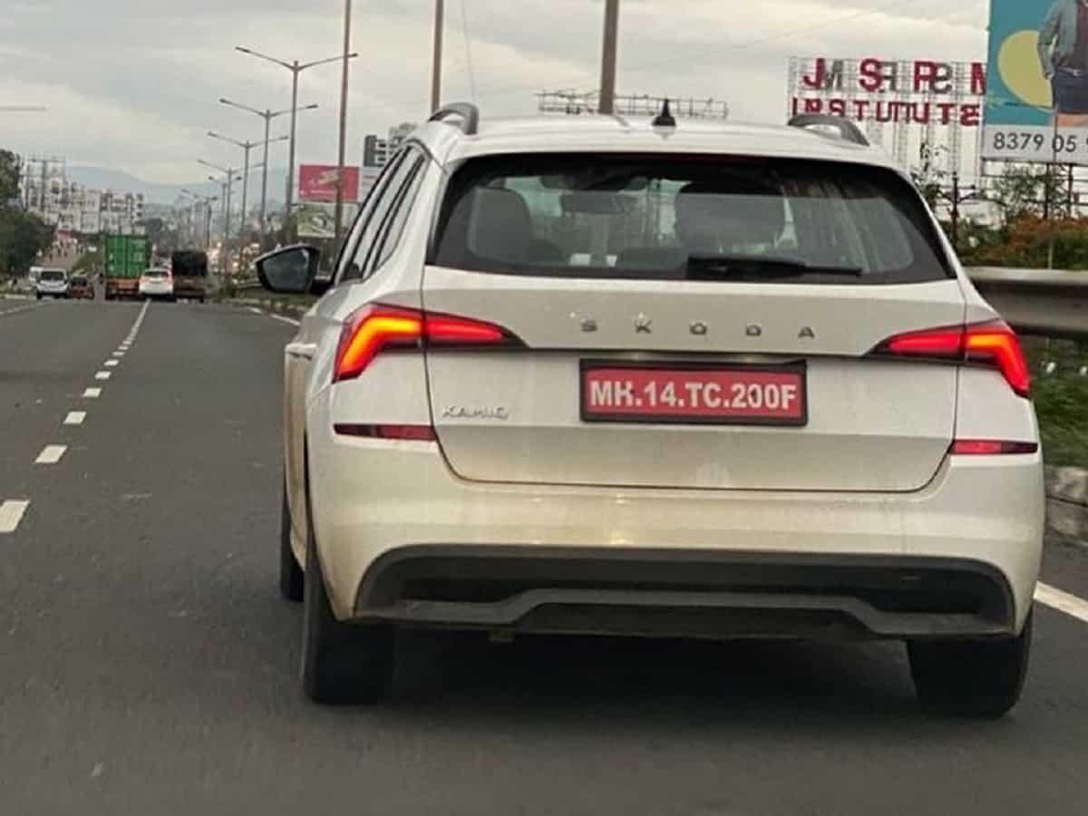 New Skoda SUV (Seltos, Creta Rival) Spotted – Interesting Details Emerge