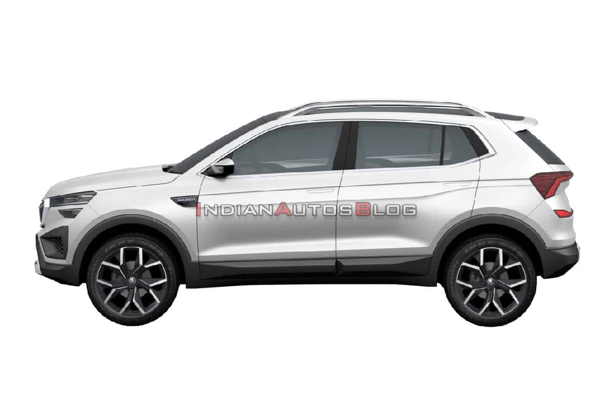 Production-ready Skoda Vision IN SUV Leaked Via Patent Images