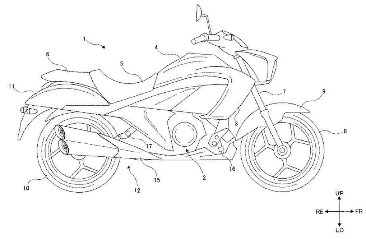 Suzuki Intruder 250 Patent Leaked (1)