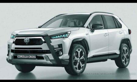 Toyota Corolla Cross Rendering