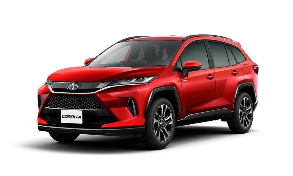 Toyota Corolla Cross SUV Rendering