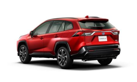 Toyota Corolla Cross SUV Rendering Rear