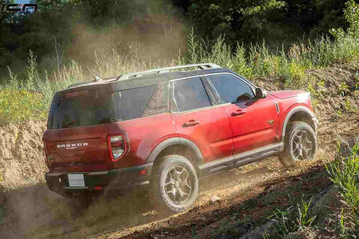 Ford Bronco Sport Rear