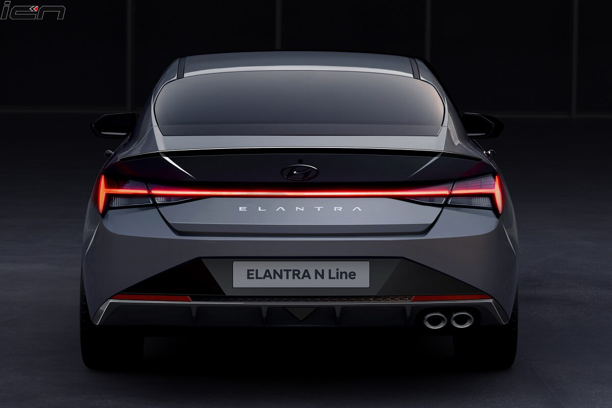 New Hyundai Elantra N Line Sport Sedan First Images Out