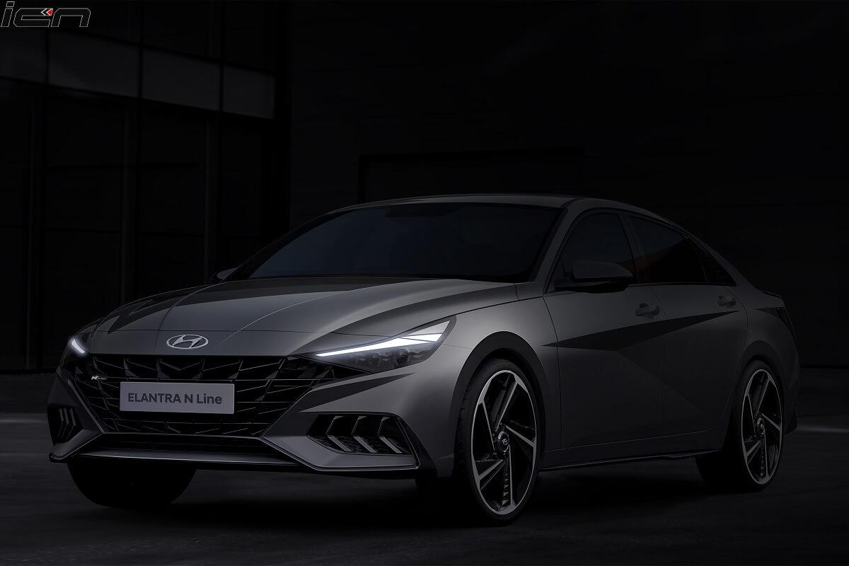 Hyundai Elantra N Line Teased