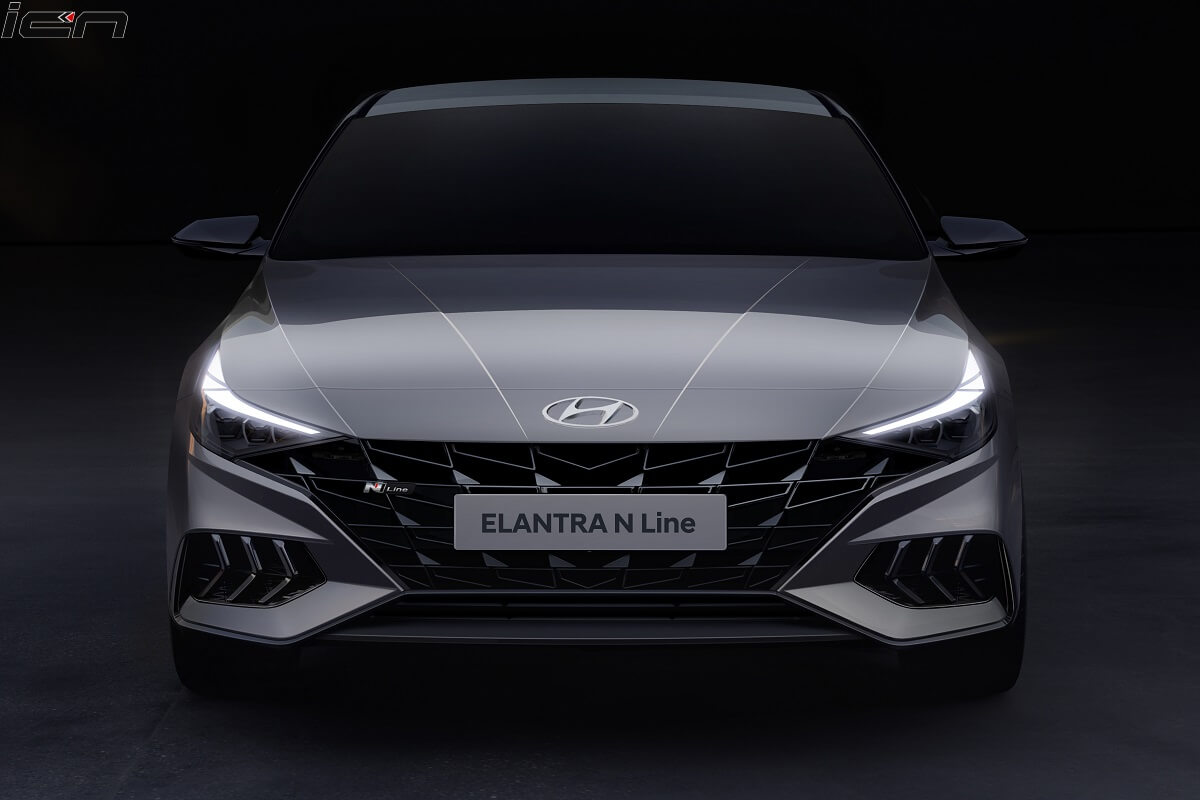 Hyundai Elantra N Line front