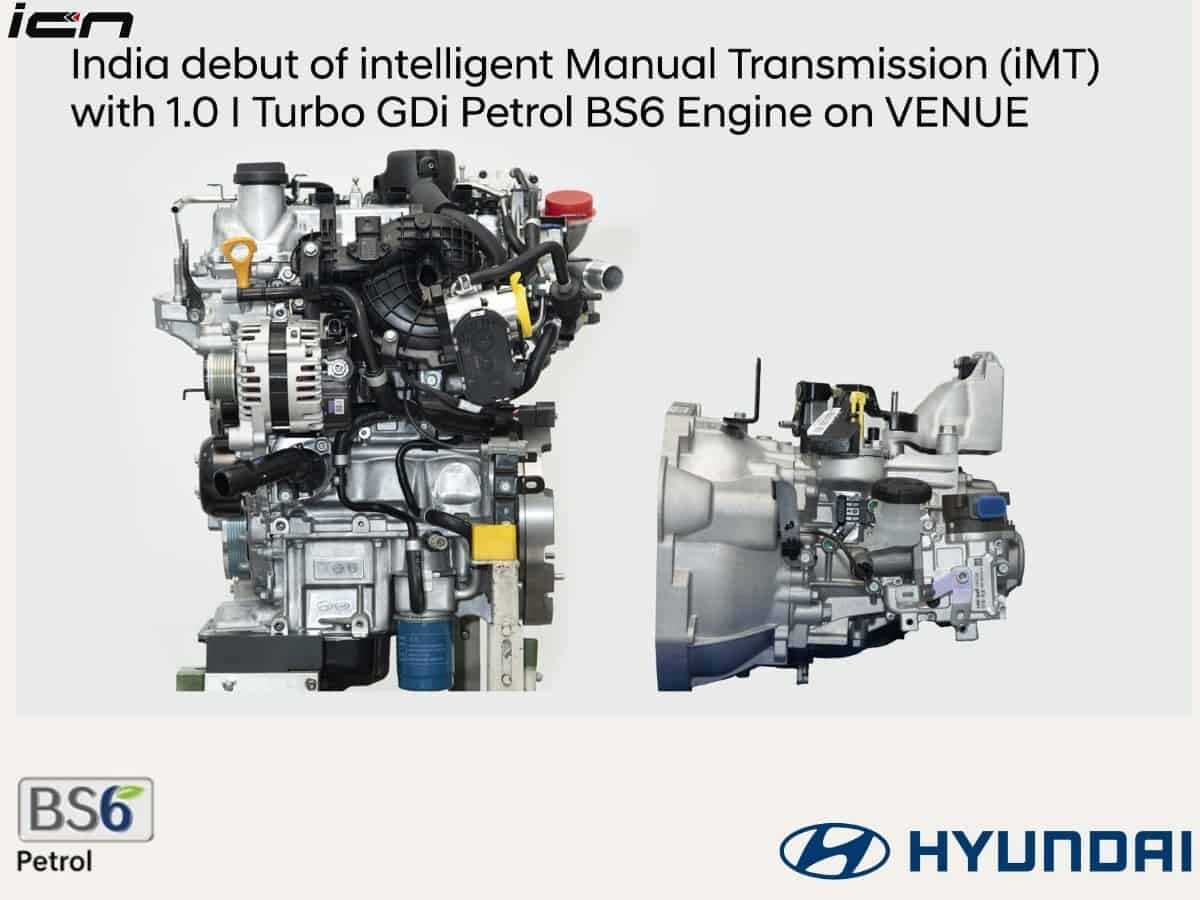 Hyundai Venue clutchless manual gearbox