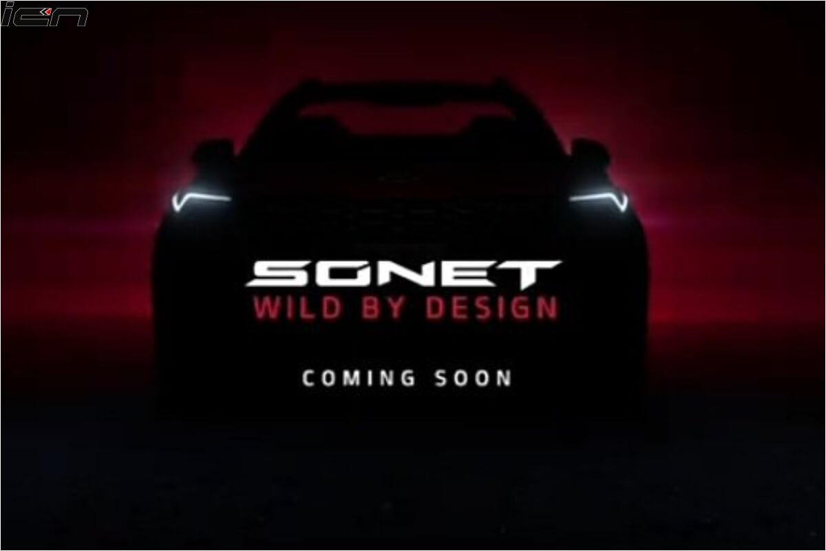 Kia Sonet Teased Front (1)