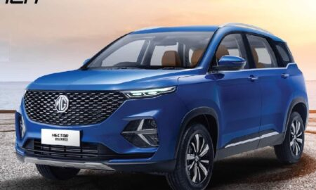 MG Hector Plus 6-seater SUV
