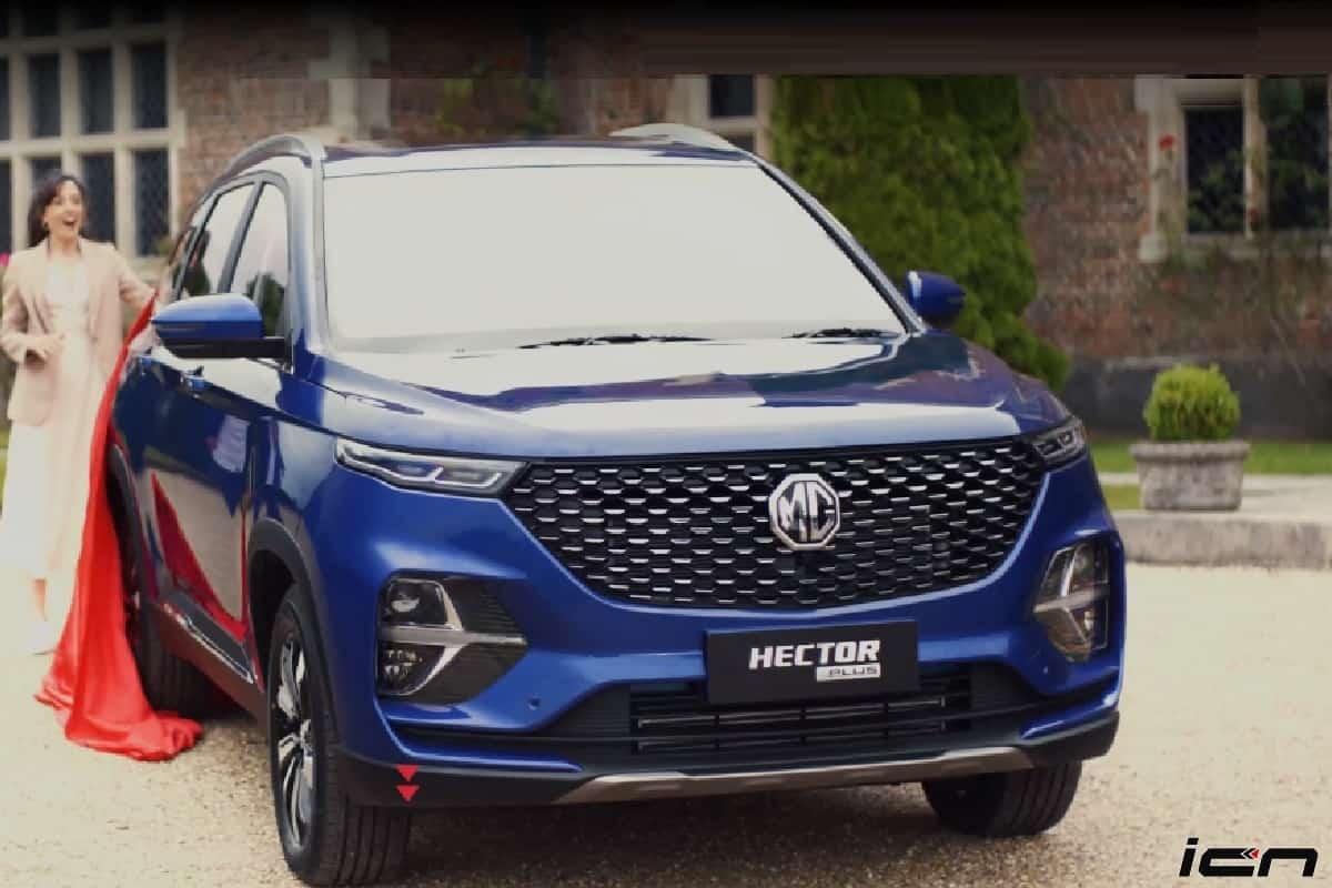 MG Hector Plus 6-Seater SUV Launch Date Revealed