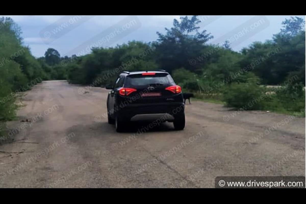 Sportier & More Powerful Mahindra XUV300 Variant Spotted