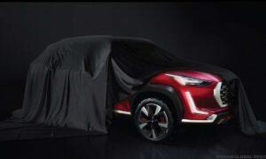 Nissan Magnite Teaser Front