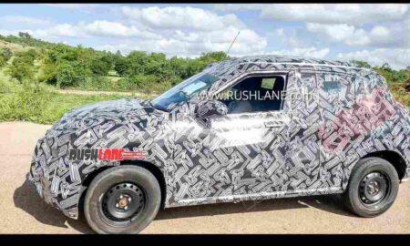 Nissan Magnite Spied