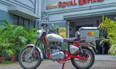 Royal Enfield Service on Wheels