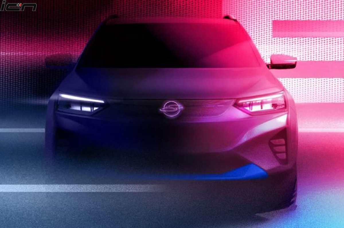 SsangYong E100 Electric Teased