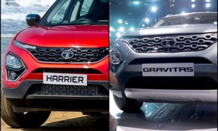 Tata Gravitas Vs Harrier