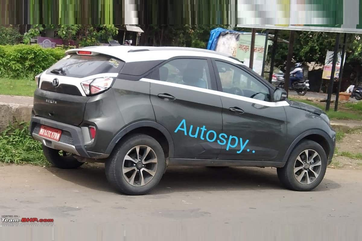 Tata Nexon To Get Dual-Clutch Automatic Gearbox – Spotted